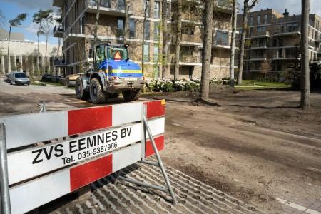 Bouwrijp en woonrijp maken wijk Monikenberg, Hilversum